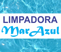 logo Limpadora Mar Azul