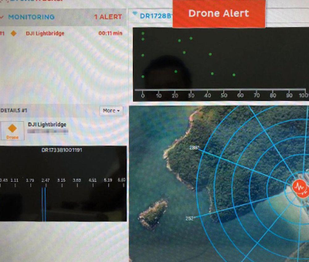 Sistema barra invasão de drone durante estadia de Bolsonaro em Guarujá, SP