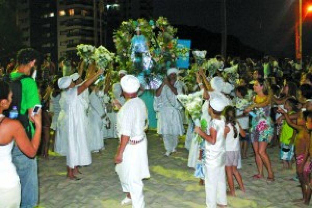 Guarujá divulga programação da 10ª Festa de Iemanjá