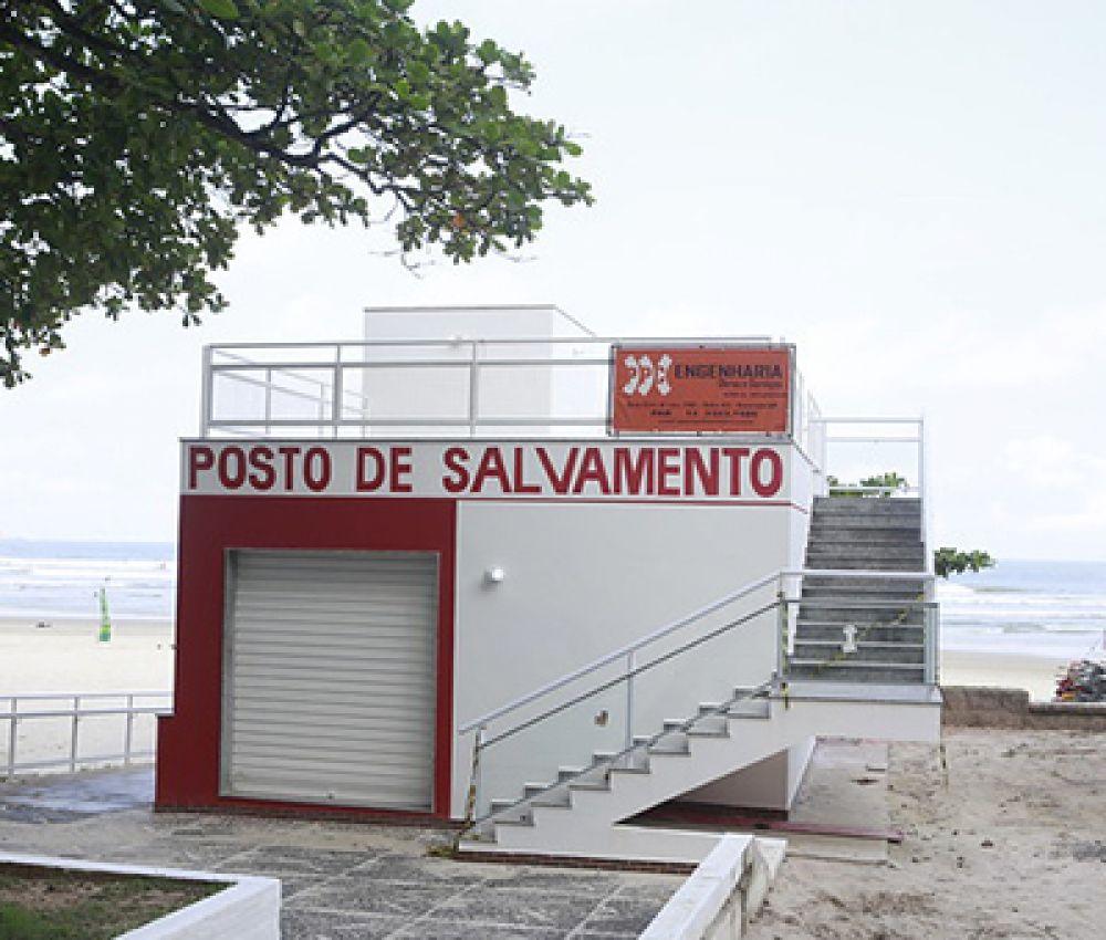 Prefeitura entrega novo posto de salvamento